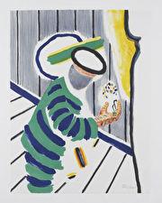 Kunstenaar: Roger Raveel • Titel: Steeds opnieuw• € 1.200,-
