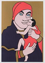 Kunstenaar: Wouter van Riessen• Titel: Pinocchio Madonna• € 250,-