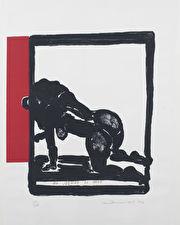 Kunstenaar: Marlene Dumas• Titel: de Muze is moe• € 3.500,-